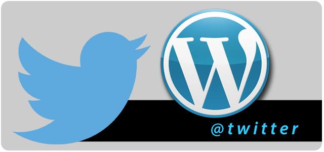 Usuarios Twitter WordPress