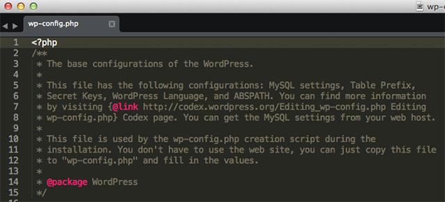 wp-config.php con .htaccess