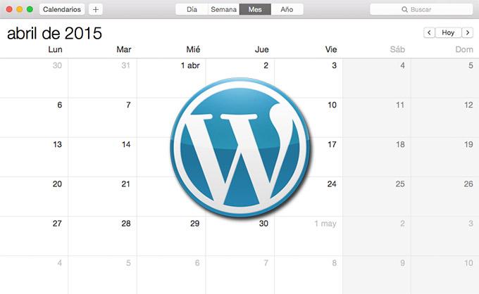Eventos WordPress