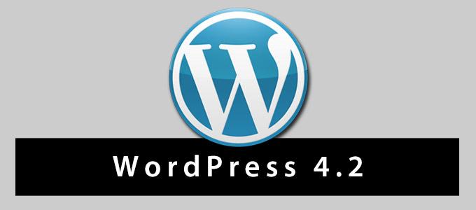 WordPress 4.2